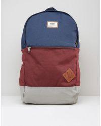 26215b98450e2a Vans Van Doren Iii Backpack In Blue Va2wnukh5 in Blue for Men - Lyst