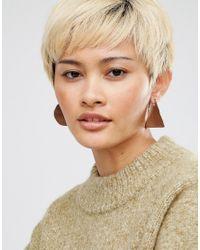 Cheap Monday - Metallic Csi Earrings - Lyst