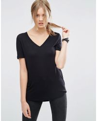 ASOS | Black The New Forever T-shirt With Short Sleeves And Dip Back | Lyst