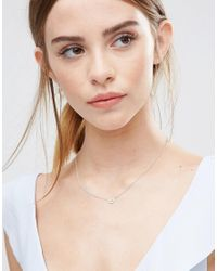 Dogeared - Metallic Sterling Silver Sweet Watermelon Reminder Necklace - Lyst