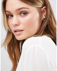 ALDO - Metallic Edowen Through & Through Earrings - Peach - Lyst
