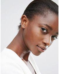 ASOS - Multicolor Pack Of 2 Jewel Swing And Stud Earrings - Lyst