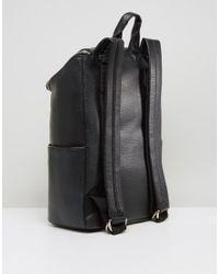 Matt & Nat - Black Brave Double Zipped Backpack - Lyst