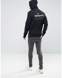Good For Nothing - Black Hoodie With Back Print for Men - Lyst