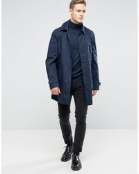 SELECTED   Blue Roll Neck Knit for Men   Lyst