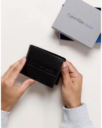 Calvin Klein - Black Jeans Wallet for Men - Lyst