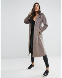 Missguided - Multicolor Faux Pony Skin Tailored Coat - Lyst
