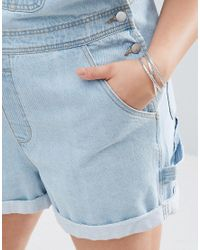 ASOS | Metallic Pack Of 2 Criss Cross Cuff Bracelet And Open Bangle | Lyst
