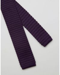 Original Penguin - Purple Knitted Tie for Men - Lyst