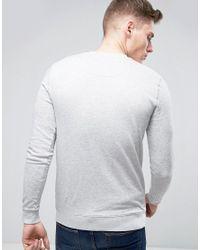 Only & Sons - Gray Basic Sweatshirt for Men - Lyst