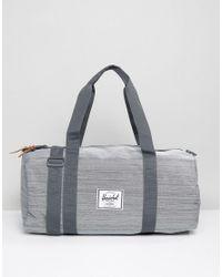 5ca9eadfe452 Lyst - Herschel Supply Co. Sutton Barrel Bag In Grey 28l in Gray for Men