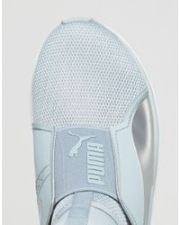 PUMA - Blue Fierce Core Trainers - Lyst