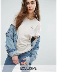 Le Coq Sportif | Multicolor Exclusive To Asos Tricolour T-shirt In Neutrals | Lyst