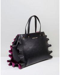 Silvian Heach - Multicolor Ruffle Frill Edge Tote Bag - Lyst