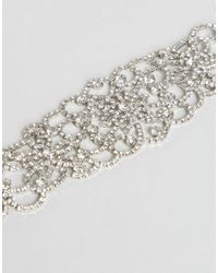 ALDO - Metallic Colaneri Jeweled Choker - Lyst