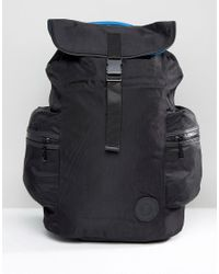French Connection - Black Backpack for Men - Lyst