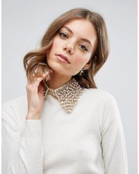 ASOS | Multicolor Bead Embellished Collar | Lyst