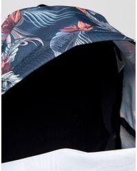 Eastpak - Blue Padded Pak R Red Brize Print - Lyst