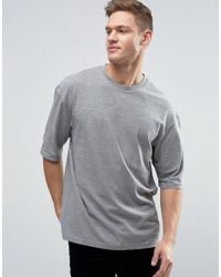 Jack & Jones | Gray Originals T-shirt In Boxy Fit for Men | Lyst