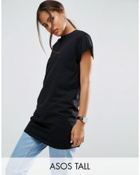 ASOS | Black The Ultimate Easy Longline T-shirt | Lyst