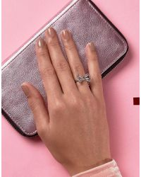 Ted Baker - Metallic Sigria Sweetie Bow Ring - Lyst