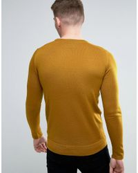 Lindbergh - Multicolor Jumper In Camel Merino Wool for Men - Lyst