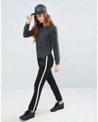Blend She - Gray Nette Sweater - Lyst