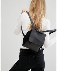 Warehouse | Black Mini Backpack | Lyst