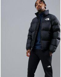 Lyst - The North Face 1996 Retro Nuptse Jacket In Black in Black for Men 6b6c82706