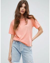 ASOS | Orange Relaxed T-shirt | Lyst