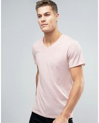 df2064d09c9 Lyst - G-Star RAW Mikan V-neck T-shirt in Pink for Men