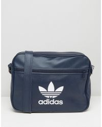 f6424840c7 adidas Originals Adidas Airliner Bag in Blue for Men - Lyst