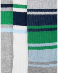 Original Penguin - Multicolor 3 Pack Socks for Men - Lyst