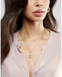 Ottoman Hands - Metallic Third Eye Chakra Pendant Necklace - Lyst