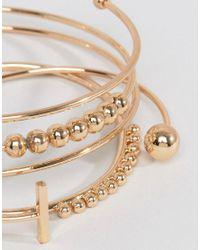 ALDO - Metallic Theiviel Stacking Bracelets - Lyst
