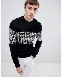 4edbdf08 SELECTED Sweater in Black for Men - Lyst