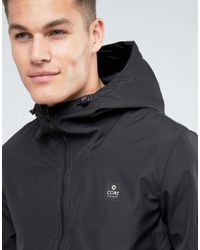 Jack & Jones - Black Rain Jacket for Men - Lyst