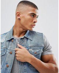 ASOS DESIGN - Design Stone Look Plug Earrings In Black for Men - Lyst