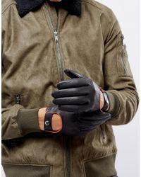 Barney's Originals - Black Gants de conduite for Men - Lyst
