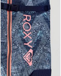 Roxy - Blue Printed Ski Bag - Lyst