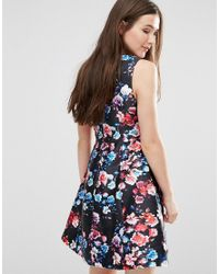 Darling - Black Catriona Skater Dress - Lyst