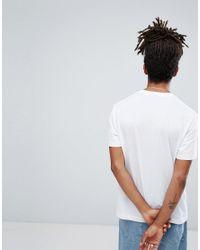 Champion - White Logo T-shirt for Men - Lyst