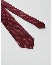Jack & Jones | Red Tie With Spot for Men | Lyst