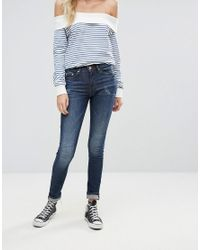 Blend She - Blue Djanko Skinny Jeans - Lyst