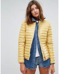 Hunter - Yellow Original Midlayer Padded Jacket - Lyst