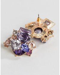 ALDO - Multicolor Cluster Stud Earrings - Lyst