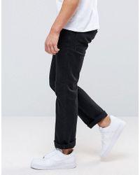 Jack & Jones | Black Jack And Jones Regular Jeans In Mid Wash for Men | Lyst
