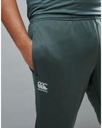 Canterbury - Green Canterbury Plus Tapered Stretch Pants In Khaki Exclusive To Asos for Men - Lyst