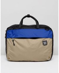 Lyst - Herschel Supply Co. . Britannia Laptop Bag In Black in Black ... d23775075ef3a