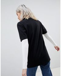 ASOS - Black Design X Glaad& Relaxed T-shirt With Embroidery - Lyst